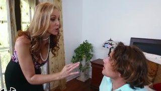 BANGBROS – MILF Julia Ann Stepmom Threesome With Latina Maid Abby Lee Brazi